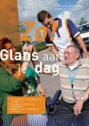 Hago Zorg Jaarbericht uitgave juli 2011
