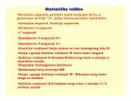 Statističke tablice