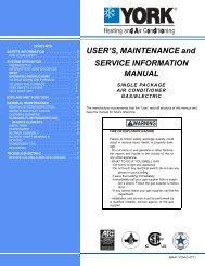 USER'S, MAINTENANCE and SERVICE ... - Upgnet.com