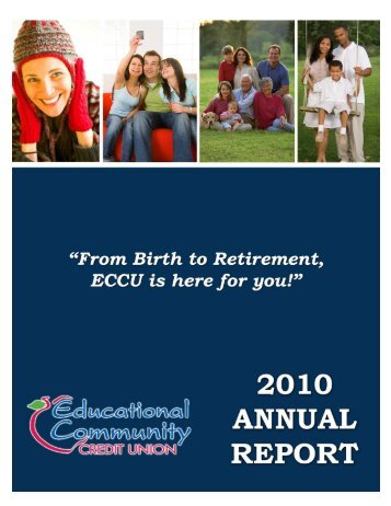 2010 Annual Report - Educational Community Credit Union