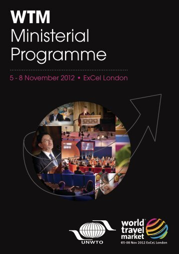 WTM Ministerial Programme - World Travel Market