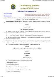 Lei 8.112, de 11 de dezembro de 1990 - TRT18