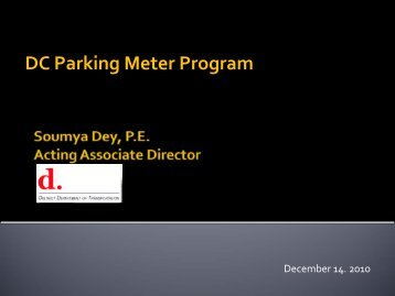 Item 2 - DDOT Parking Initiatives