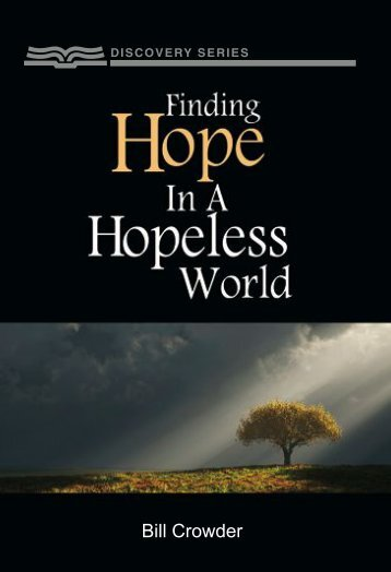 Finding Hope in a Hopeless World - RBC Ministries