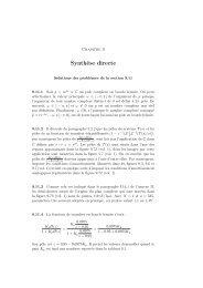 Synthèse discrète - LA