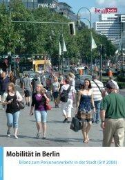 Mobilität in Berlin - Senatsverwaltung für Stadtentwicklung - Berlin.de