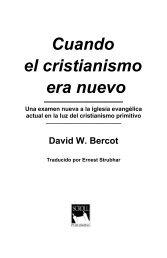 Cuando el cristianismo era nuevo.pdf - El Cristianismo Primitivo