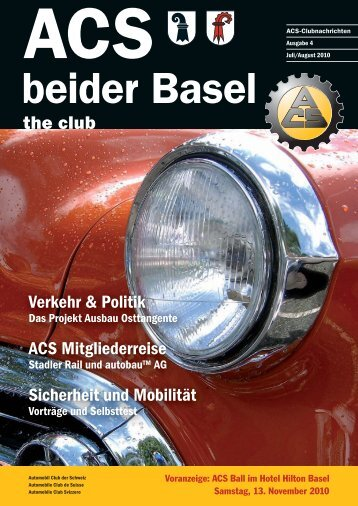 Ausgabe 4-2010 - Sektion beider Basel