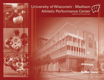 Athletic Performance Center Design Study (pdf) - Facilities, Planning ...