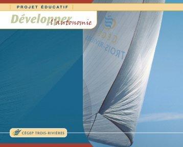 Le projet éducatif du Cégep de Trois-Rivières
