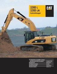 329D L 329D LN Hydraulikbagger - Lectura SPECS