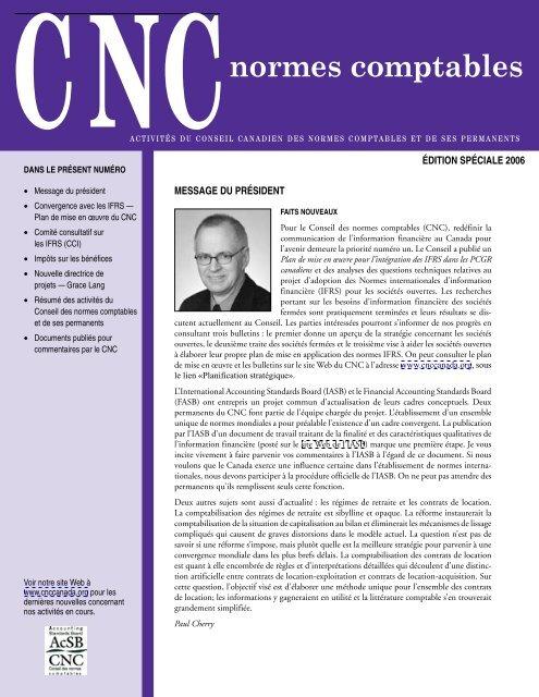 CNC, Édition spéciale 2006 - Deloitte & Touche Canada