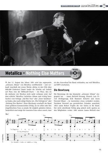 Metallica – Nothing Else Matters