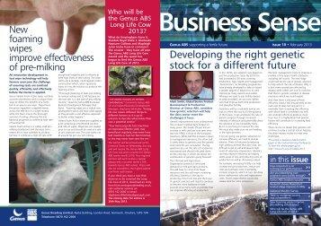 Genus BusinessSense v1_Layout 1 - ABS Global, Inc.
