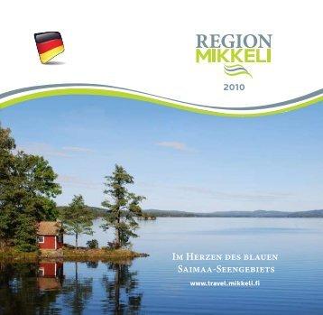 Im Herzen des blauen Saimaa-Seengebiets - Mikkeli