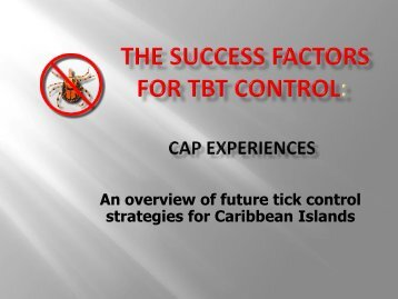 Success or Failure? - Caribvet