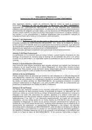 Reglamento Domingos 15% Desc. Megasuper V14 - Credomatic