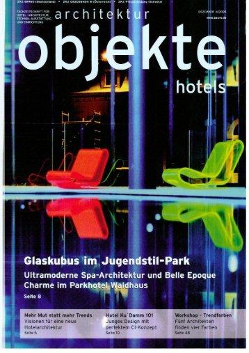 architektur objekte hotels, Dezember 2005 - Ku'Damm 101
