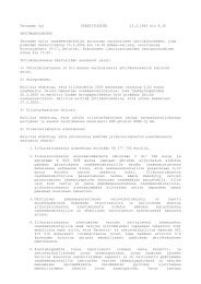 Yhtiökokouskutsu - Tecnotree
