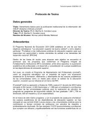 Protocolo Tesina - Departamento de Gestoría y Fortalecimiento ...