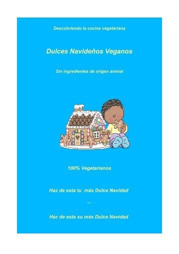 Dulces Navideños Veganos - Unión Vegetariana Española