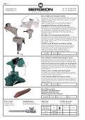 Etau d'établi amovible pour horloger Werktisch ... - Bergeon SA - Page 2