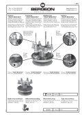 Etau d'établi amovible pour horloger Werktisch ... - Bergeon SA - Page 4