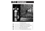 CO2 fertilizer system Exclusive DeLuxe - Dennerle
