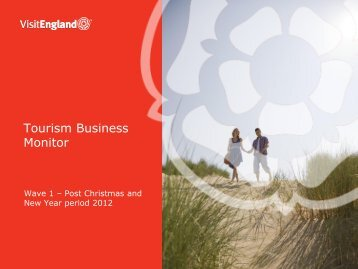 Tourism Business Monitor - VisitEngland