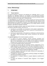 Annex: Methodology 1 STRATEGY - MADR