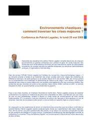 Information_conferen.. - Patrick Lagadec
