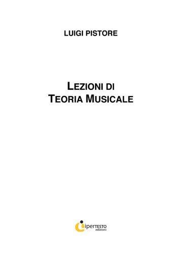 la teoria musicale - Iperedizioni.it