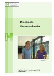 Dialogguide til Recovery-orientering - Skizofre9til5