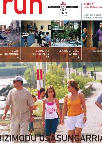 bizimodu osasungarria vida saludable - Ayuntamiento de Irun