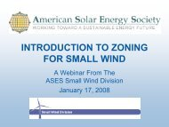 Introduction to Zoning for Small Wind - Wind Powering America