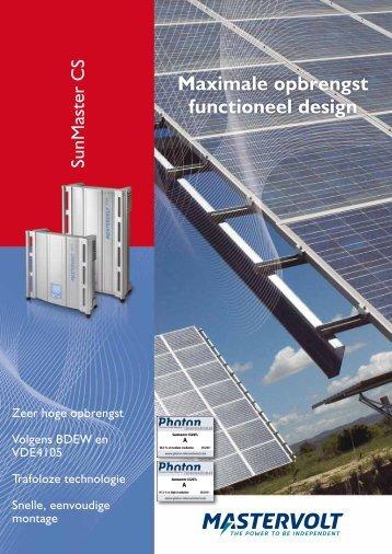 SunMaster CS - Solar