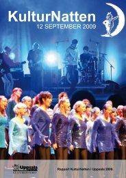 12 SEPTEMBER 2009 - KulturNatten Uppsala
