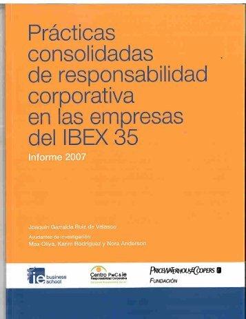 Prácticas consolidadas de responsabilidad corporativa en las ... - pwc