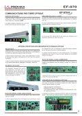 Communicaitions par Fibre Optique - EF-970 - Promax - Page 2