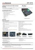 Communicaitions par Fibre Optique - EF-970 - Promax - Page 3