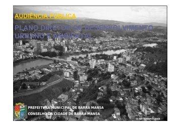 plano diretor de desenvolvimento urbano e ambiental - Prefeitura ...