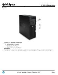 Hp 650 G4 Quickspecs