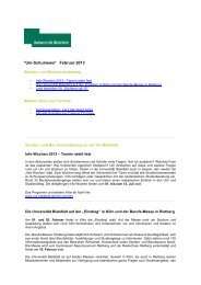 Ausgabe Februar 2013 - Universität Bielefeld