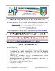 COMUNICATO n.04 del 05/08/2011 - FIGC