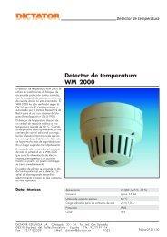 05 Detector de temperatura WM 2000 - DICTATOR