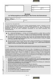 Merkblatt zur Verfassungstreue und Absage an alle Formen des ...