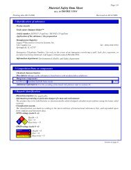MSDS Sheet - Legacy, Decorative Concrete Systems, Inc.