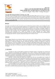 Simulação do Desempenho de Redes de Trocadores de ... - PPGEM