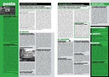 in breve in agenda - Quartiere San Felice