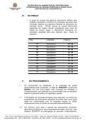 CHAMADA PÚBLICA Nº 01/2011 - Secretaria da Administração ... - Page 6